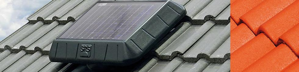Extracteur d'AIR à énergie Solaire pour Combles.